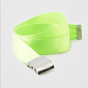 AEO Neon Web Belt - American Eagle Outfit